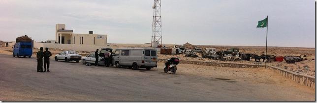 Mauritania border